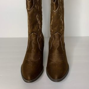 New Cowgirl Western Vinnmo Whiskey Distress Boot